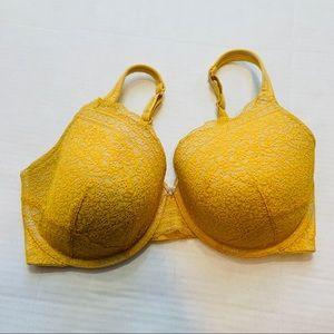 Cacique yellow bra40DDD